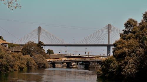 Δωρεάν στοκ φωτογραφιών με ζεστός, ηλιόλουστη μέρα, θολωτή γέφυρα, καλοκαίρι