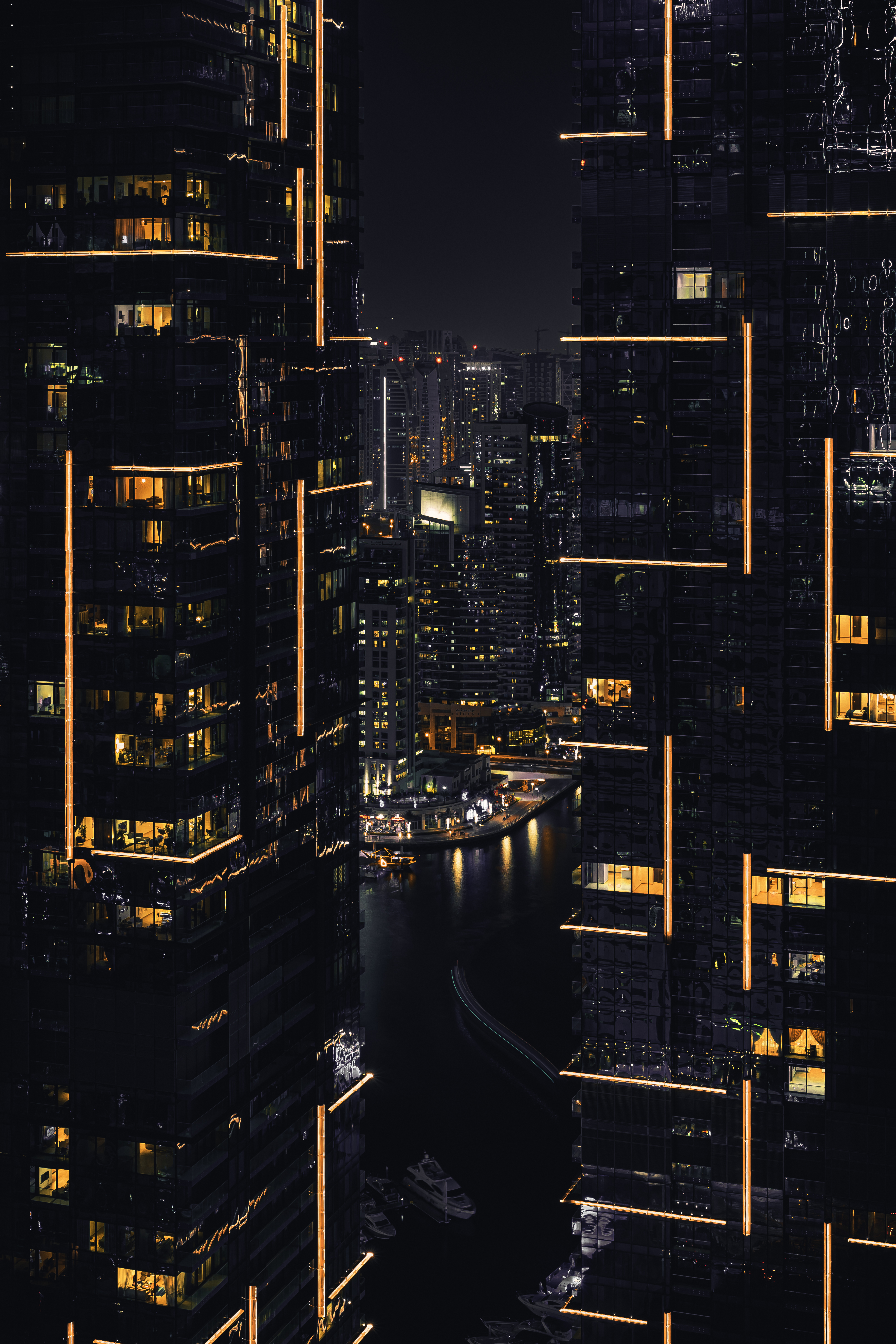 Photo of Buildings during Nighttime