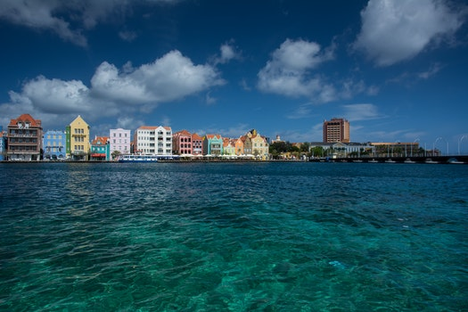 Free stock photo of sea, city, harbor, harbour