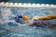 water, girl, sport