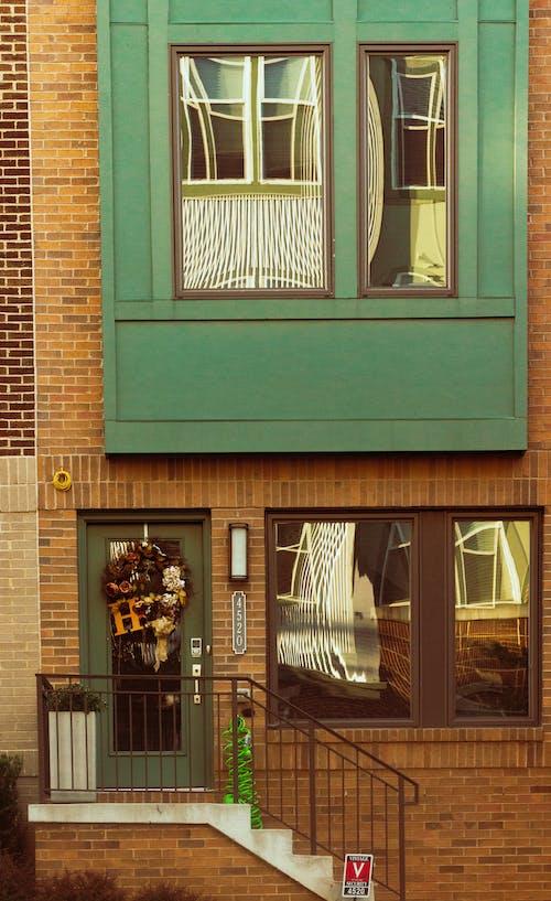 Fotobanka sbezplatnými fotkami na tému dom, predné dvere, vintage