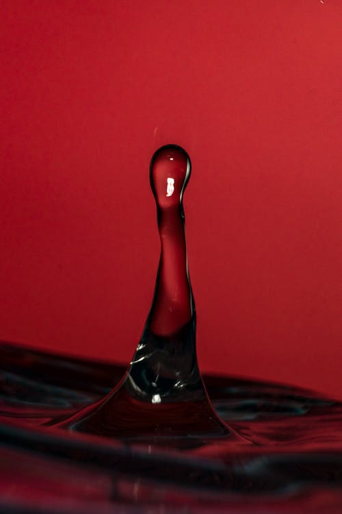 Macro Photography of Water Drop