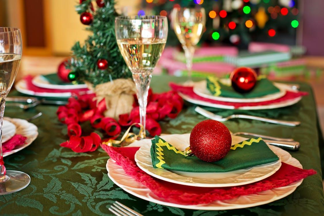Christmas-themed Table Set