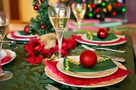 plate, holiday, party