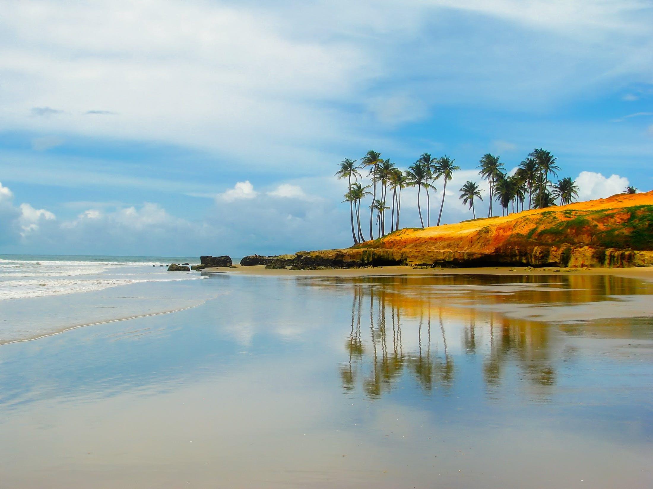 Free stock photo of sea, sky, beach, holiday