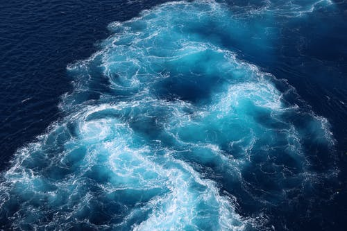 Aerial View Photo of an Ocean