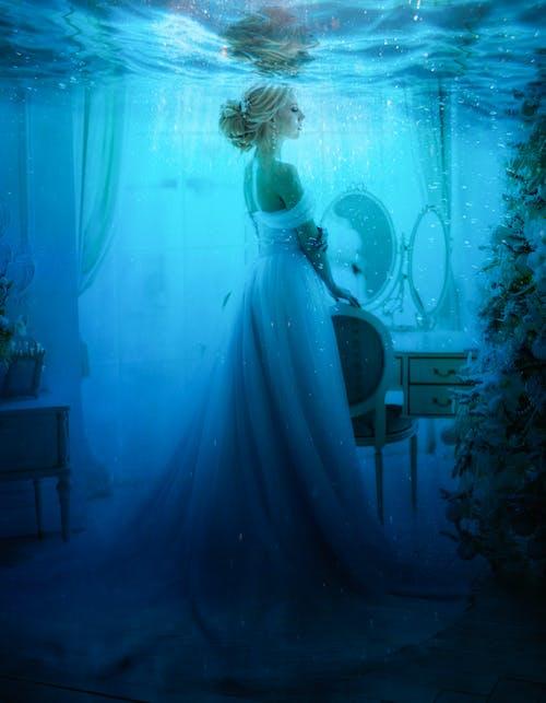 Free stock photo of alinari, art studio, blonde hair, blue