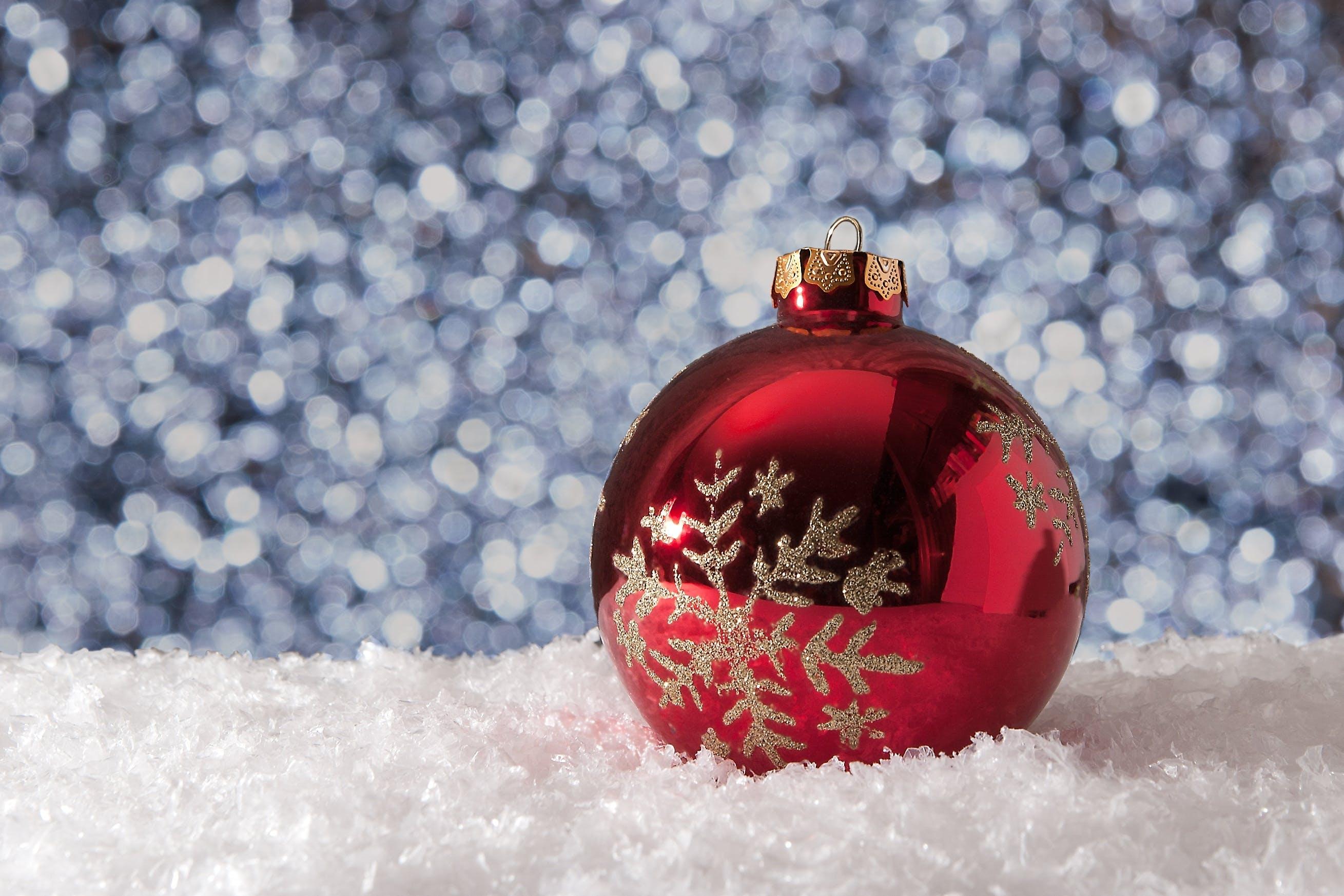 Kostenloses Stock Foto zu dekoration, frost, jahreszeit, schnee