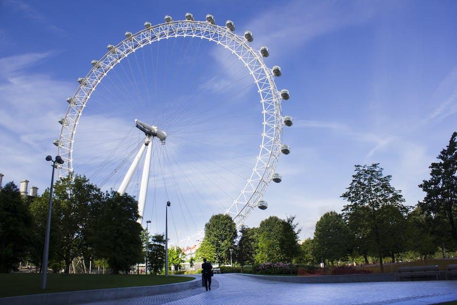 New free stock photo of trees, park, ferris wheel