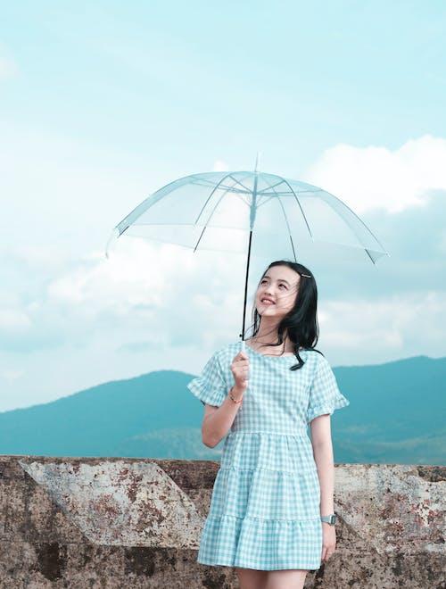 スマイル, ファッション, 人, 傘の無料の写真素材