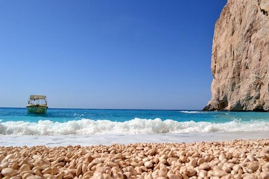 Kostenloses Stock Foto zu meer, himmel, strand, wasser