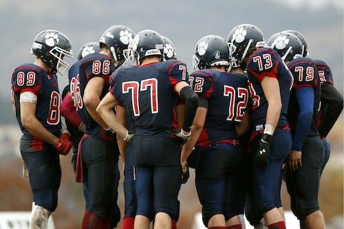 aksiyon, alan, Amerikan futbolu, aşındırmak içeren Ücretsiz stok fotoğraf