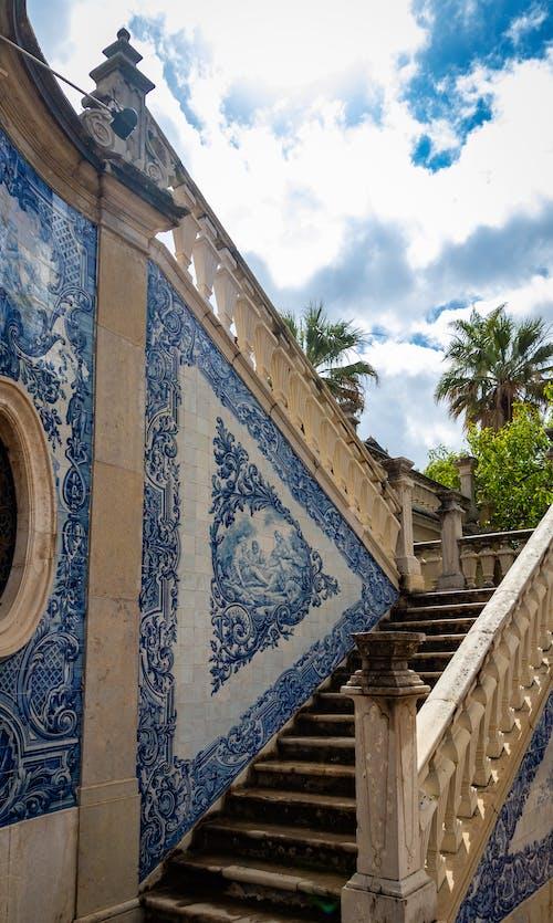 Foto stok gratis Arsitektur, Desain, langit biru, pariwisata