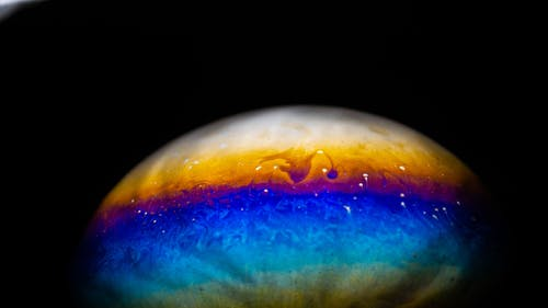 Free stock photo of bubbles, bubblmacro, colourful