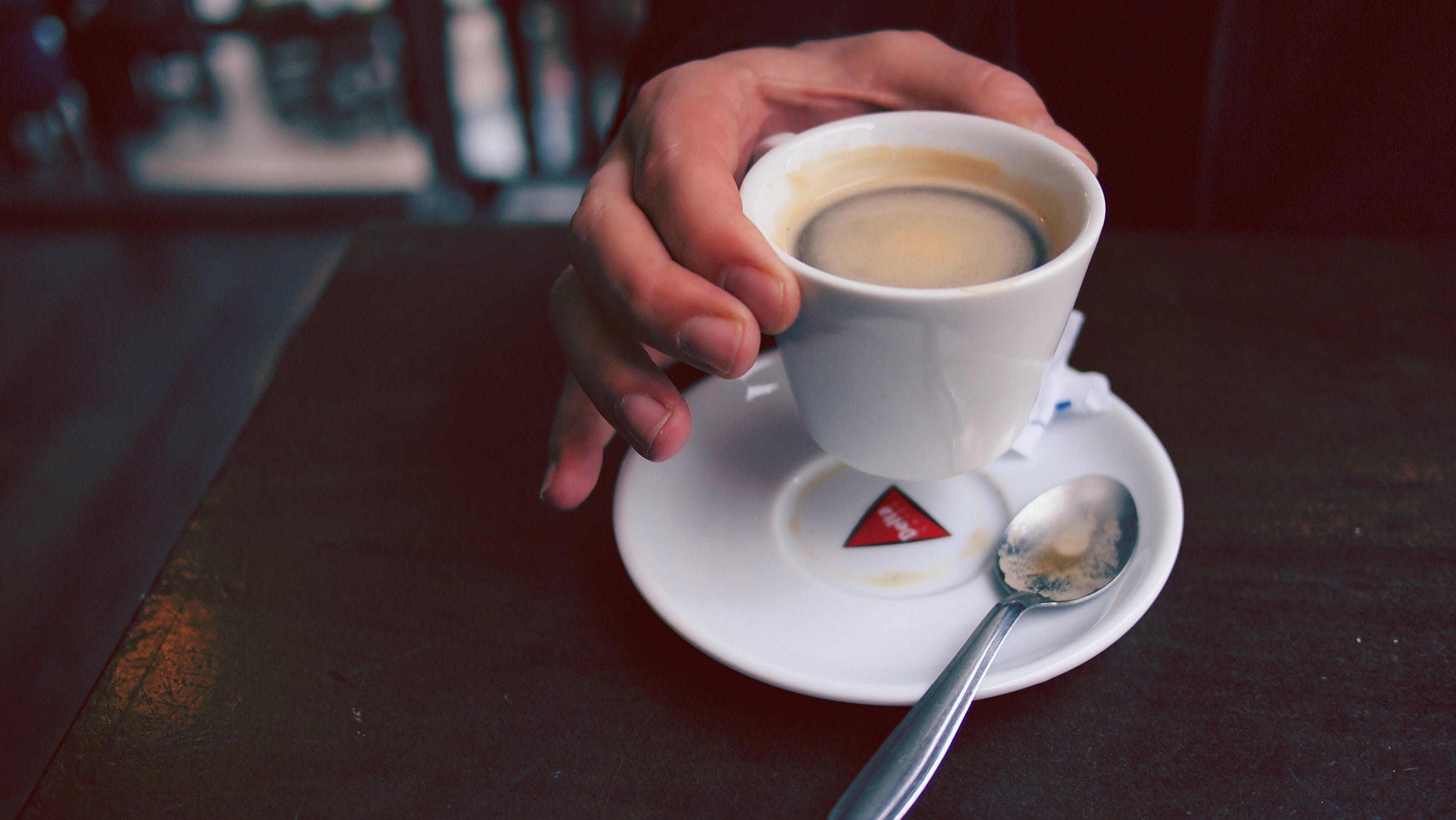 Free stock photo of caffeine, coffee, cup, hand