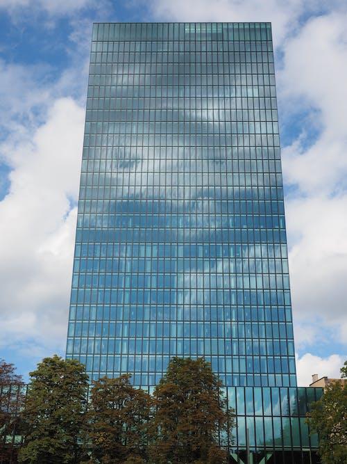 Ilmainen kuvapankkikuva tunnisteilla arkkitehtuuri, futuristinen, heijastus, ikkunat