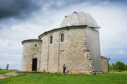 Free stock photo of astronomy, building, croatia, grass