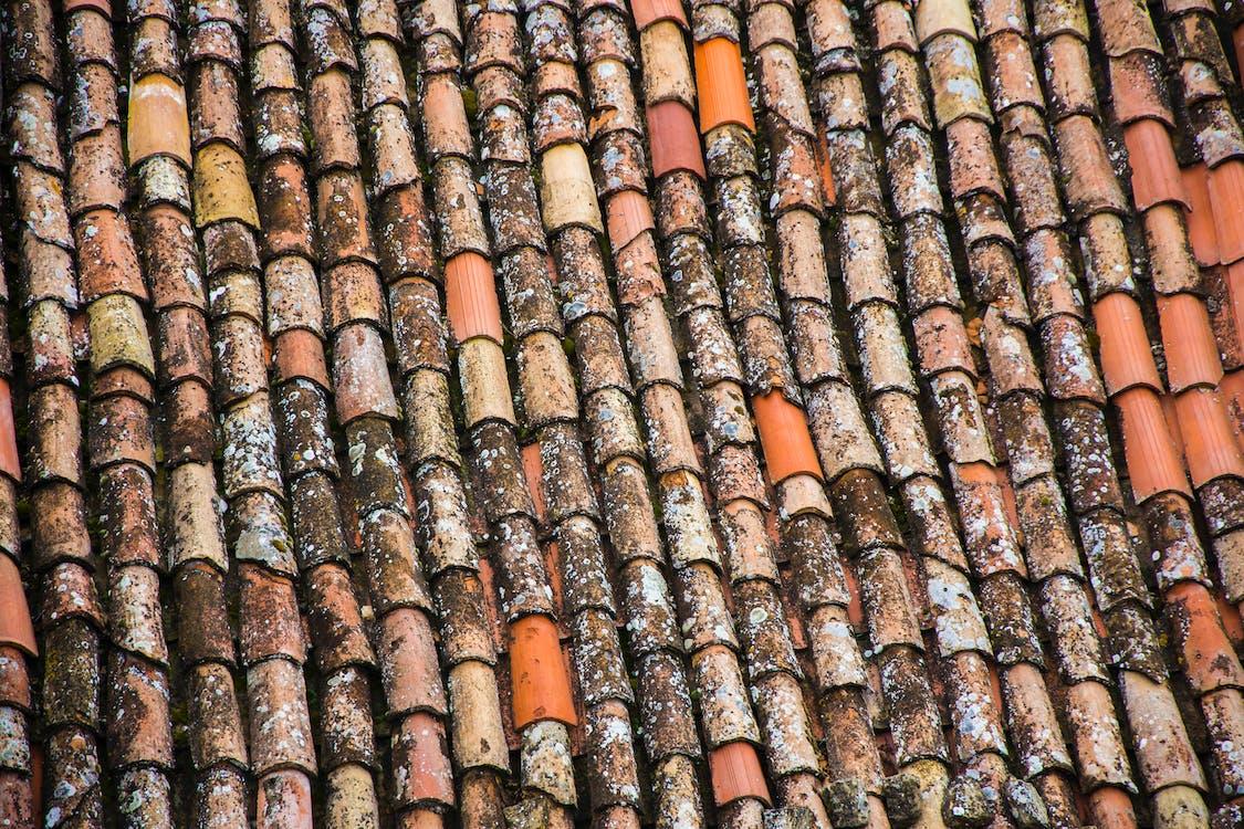 antigo, azulejos, close