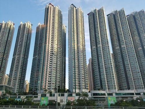 Foto profissional grátis de #skyscrapers # construção #tall