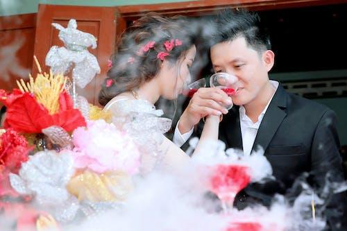 Foto profissional grátis de casamento