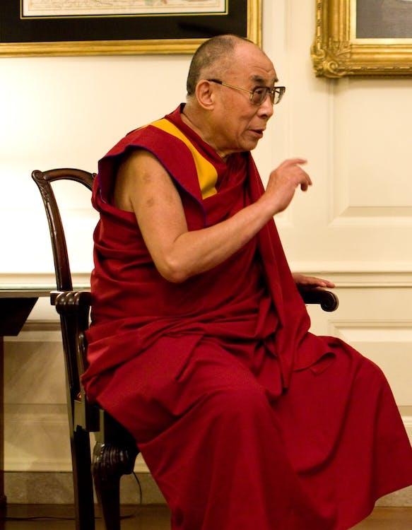 14th dalai lama, born july 6 1935, buddhist