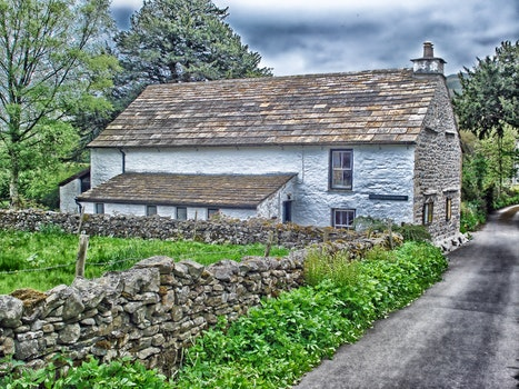 Free stock photo of road, landmark, clouds, village