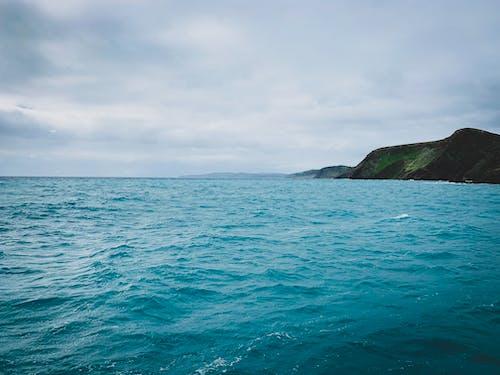 シースケープ, ターコイズ, ビュー, 地平線の無料の写真素材