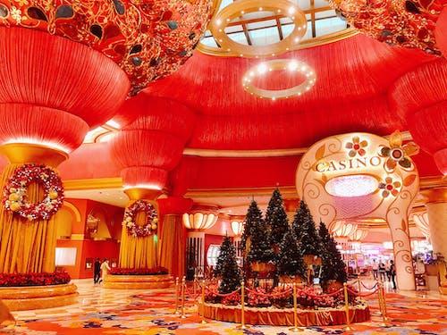 Foto stok gratis berwarna merah muda, Filipina, hotel, kasino