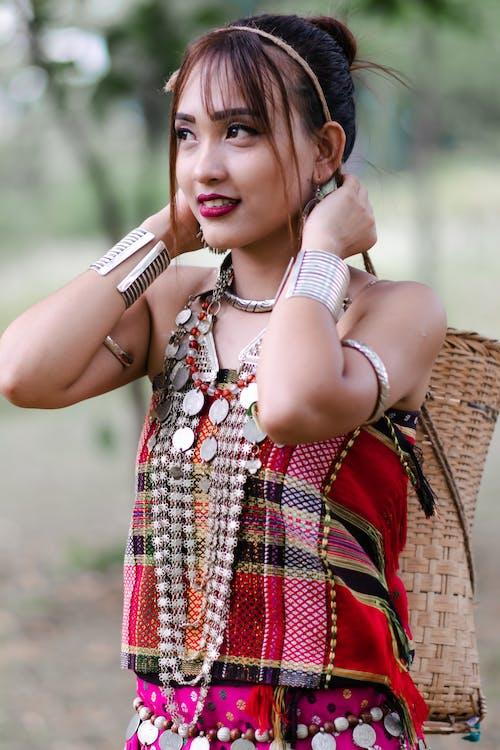 Gratis stockfoto met Indië, kleding, noordoost-india