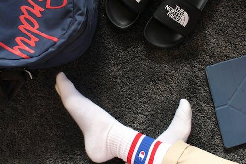 Pair of White Champion Socks