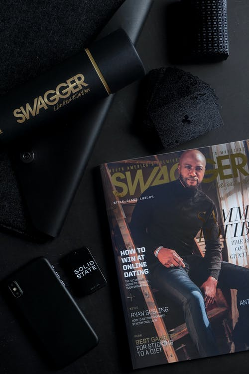 Swagger Magazine and Swagger Limited Edition Water Bottle