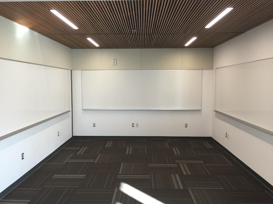 ceiling, empty, floor