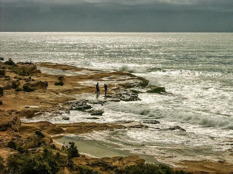 Free stock photo of fishing, sea, landscape, nature