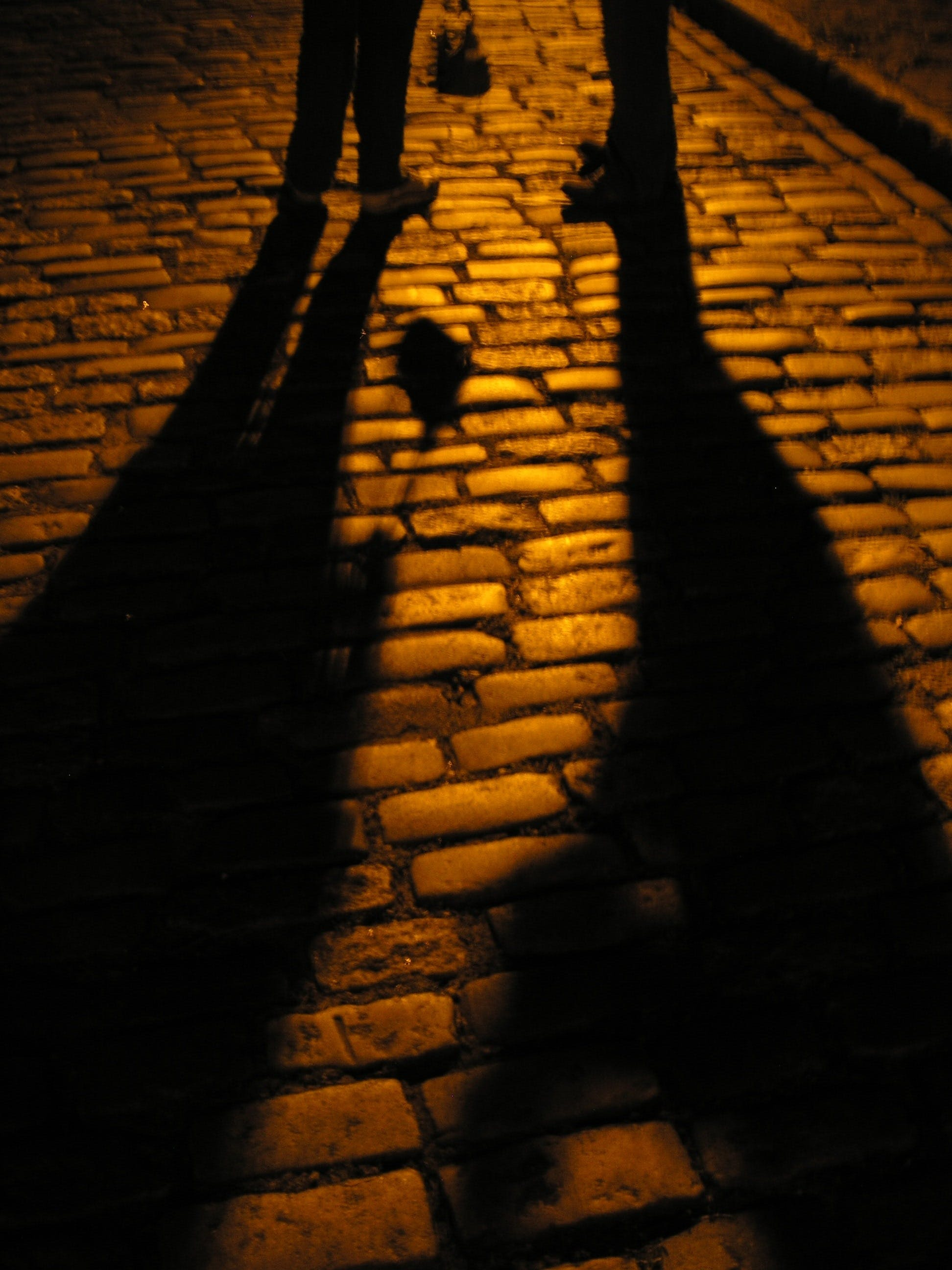cobblestone, meeting, mysterious