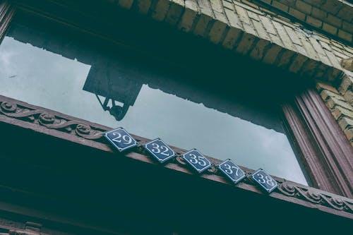 Základová fotografie zdarma na téma budova, čísla, čištění, dveře