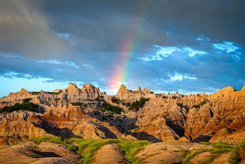 Photos gratuites de 4k, arc-en-ciel, badlands, couleurs