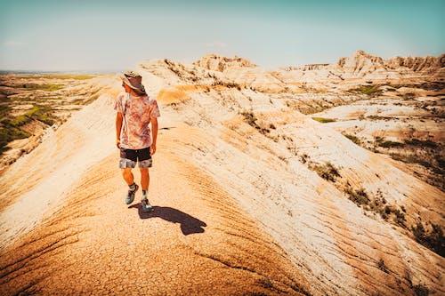 Photos gratuites de badlands, beau, dakota du sud, désert