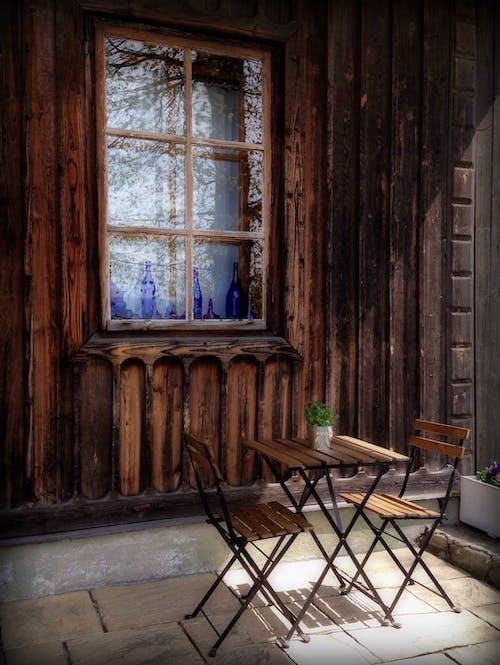 Ilmainen kuvapankkikuva tunnisteilla arkkitehtuuri, huonekalu, muuri, puinen