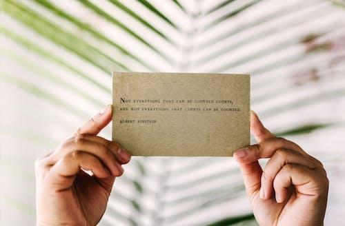 信用卡, 備忘錄, 專注, 手 的 免費圖庫相片