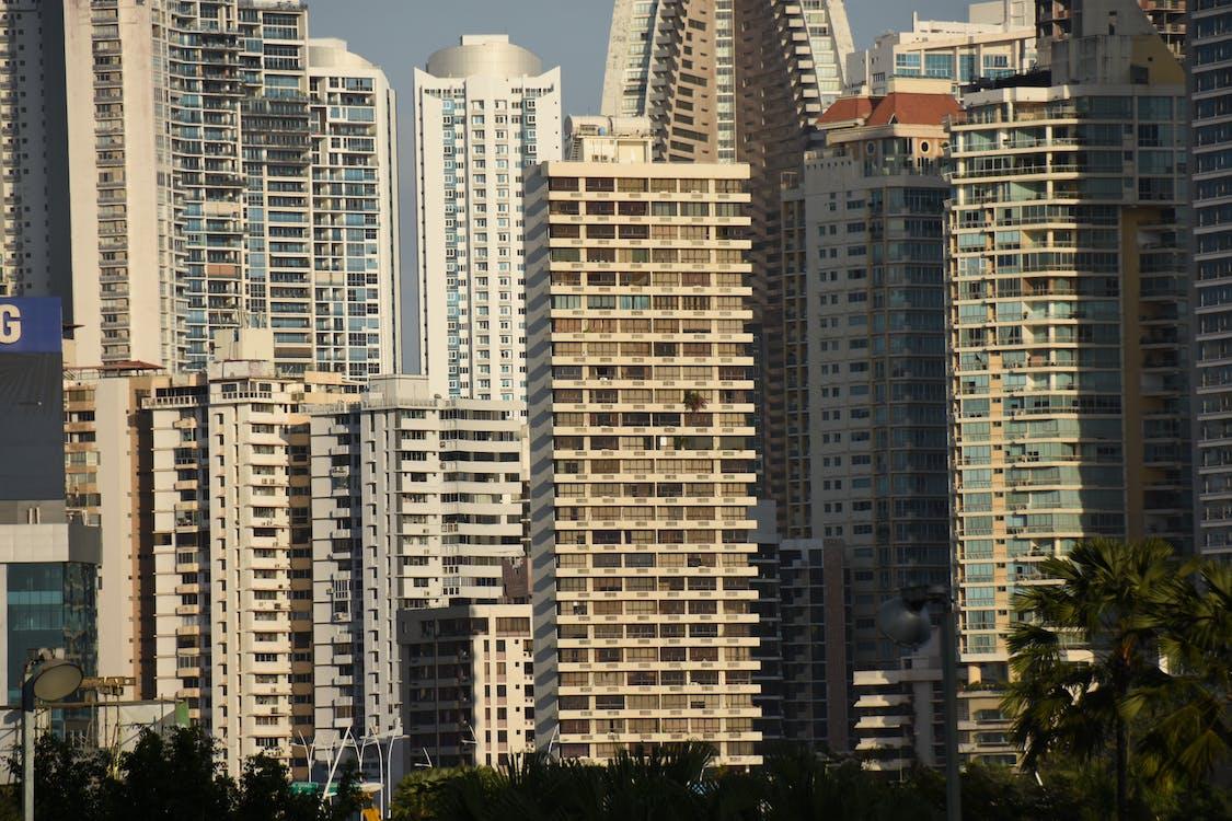 budova, Panama, panoráma mesta