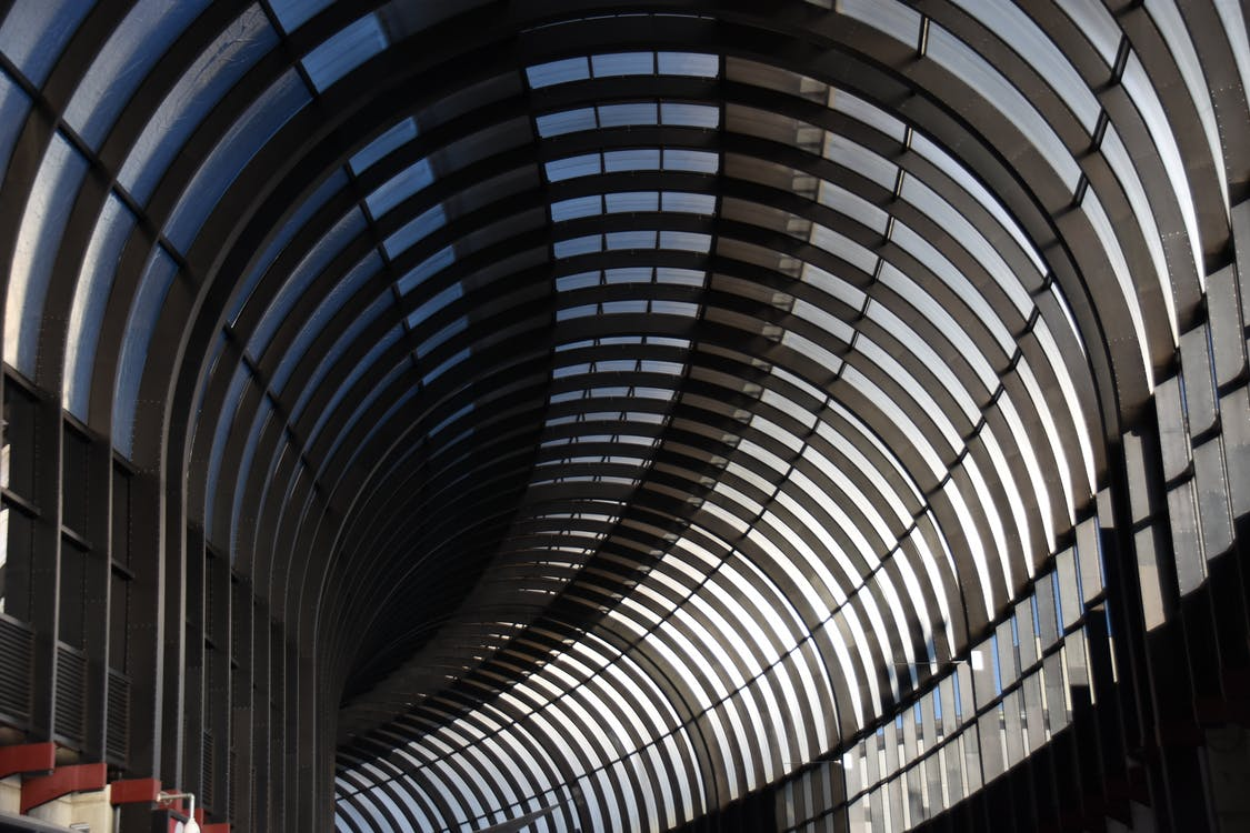 Gray Tunnel Frame