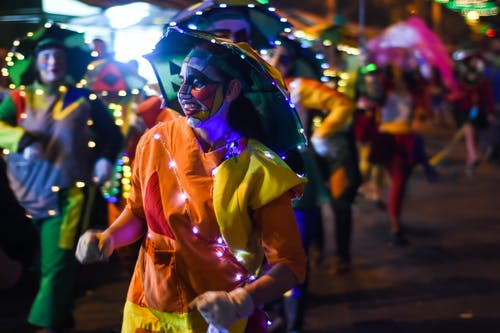 Free stock photo of candid, carnival, parade, smiling