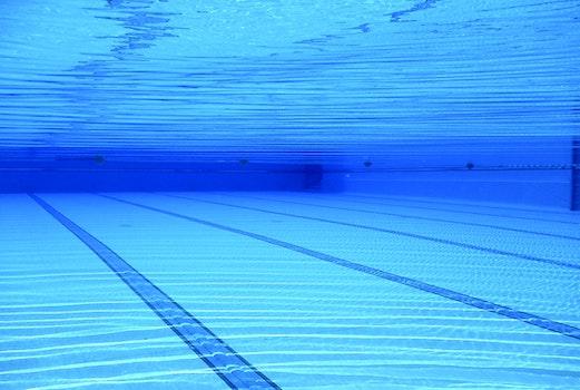 Free stock photo of water, blue, swimming pool, underwater