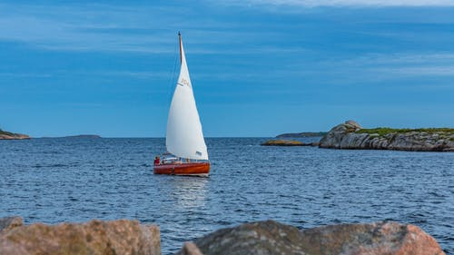 Free stock photo of sailboat