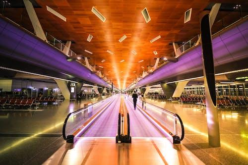 Gratis lagerfoto af arkitektur, bevægelse, fart, indendørs