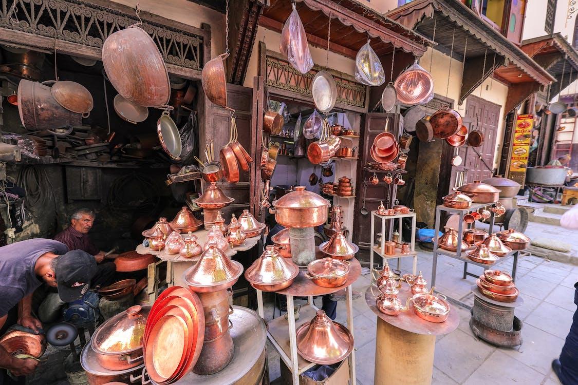 barang dagangan, bazar, booth