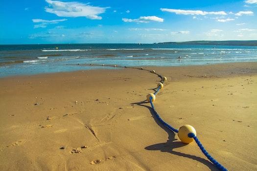 Free stock photo of sea, beach, poole