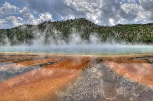 Kostenloses Stock Foto zu landschaft, wahrzeichen, wasser, wolken