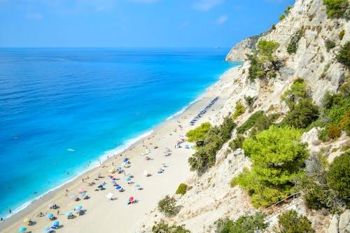 egremni, egremni海灘, 休閒, 假期 的 免費圖庫相片