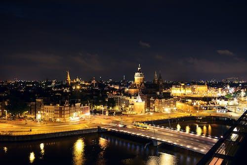 Imagine de stoc gratuită din Amsterdam, apă, apă curgătoare, arhitectură